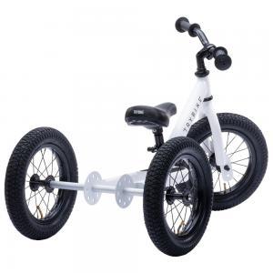Balansinis dviratukas-triratukas Trybike Steel 2-in-1, baltas