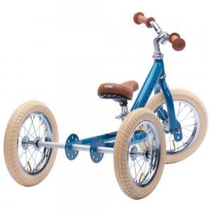 Balansinis dviratukas-triratukas Trybike Steel 2-in-1, Vintažinis mėlynas
