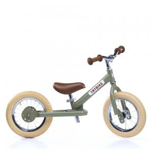 Balansinis dviratukas Trybike Steel, Vintažinis žalias