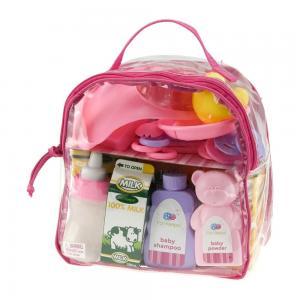 Krepšys lėlėms su aksesuarais
