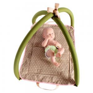 Lavinamasis kilimėlis kūdikiui - lėlei