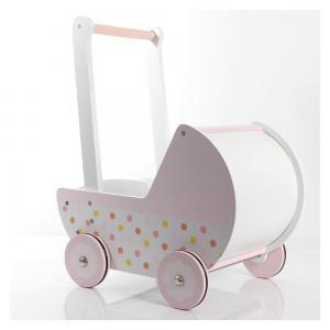 Lėlių vežimėlis Žemuogė
