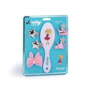 Plaukų priežiūros rinkinys Orange Toys, baltas