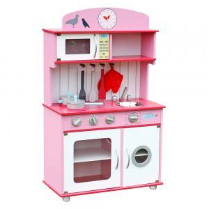 Žaislinė virtuvėlė Normandija Rausva