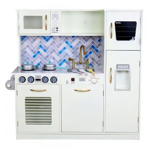 Žaislinė virtuvėlė Paryžius balta