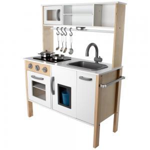 Žaislinė virtuvėlė Skandinavija su LED