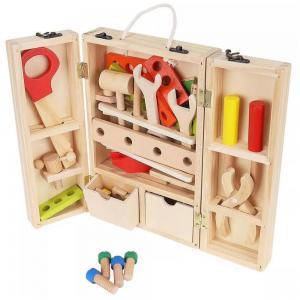 Mediniai įrankiai vaikams (32 dalys)