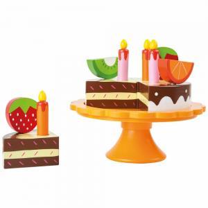 Žaislinis gimtadienio tortas, Small Foot (13 dalių)