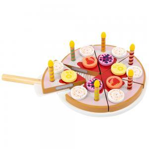 Žaislinis tortas su žvakutėmis, Small Foot