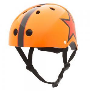 Vaikiškas šalmas CoConuts - Orange star