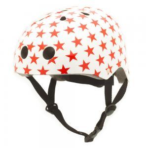 Vaikiškas šalmas CoConuts - Red stars